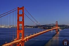 Golden Gate Bridge San Francisco, California (randyandy101) Tags: sky sea seascape shore shoreline sunset californiacentralcoast california coast sanfrancisco goldengatebridge cityscape photography panorama pacificocean skyline dusk evening