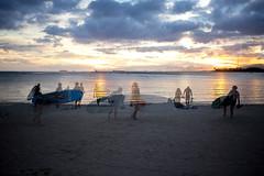 Ala Moana Beach (birzer) Tags: ala moana hawaii locals sunset