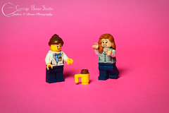 Lego - 2 Girls, 1 Cup (jbressi_photo) Tags: lego 2girls1cup lego2girls1up legominifigs funny gross yuck legoloislane loislane legoscientist figs