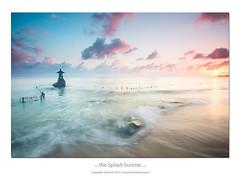 ... the Splash Sunrise ... (liewwk - www.liewwkphoto.com) Tags: bali indonesia nusa penida liewwk liewwknature liewwkphotohunters liewwkbali sunrise filter rgnd lee filters haida nisi nd slow shutter wwwliewwkphotocom