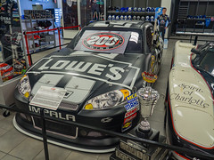Hendrick Motorsports Museum (Anthony's Olympus Adventures) Tags: hendrick hms museum hendrickmotorsports nascar car motorsport racing exhibit trophy racecar vehicle charlotte concordnc america usa shop store jimmiejohnson darlingtonraceway