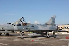 Mirage 2000-5EG upgraded to MK2 standard, 551 HAF, at the Malta International Airshow 2015 static
