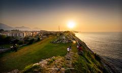 """PASEO DE SAN PEDRO"" (Santiago J. Maroto) Tags: paseo sanpedro llanes asturias sunset atardecer"