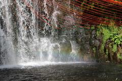 L'esprit de la cascade... (Dik) Tags: lt ballade estivale grande auvergne sorties chasse ambiances ciel fleurs sensations beaut artland oeuvres horizons sancy festival brk dike