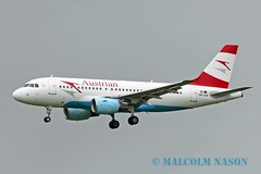 A319-112 OE-LDA AUSTRIAN AIRLINES (shanairpic) Tags: jetairliner a319 airbusa319 shannon austrian oelda