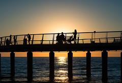 End of the day (Luca Cesari) Tags: sonya7rii sony 90mm summicron90mm leica mare sea saescape versilia lidodicamaiore toscana tuscany italia italy tramonto sunset controluce ombre