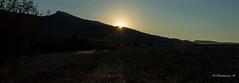Sunset 06 (Milen Mladenov) Tags: 2016 august bulgaria d3200 landscape nikon varbovchets blue field grass green mountain nature sky summer sun sunflare sunlight sundown sunrays sunset tree trees view yellow