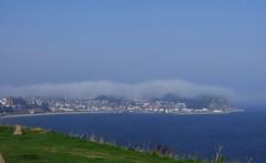 Fog over Scarborough (Martellotower) Tags: fog bank haar scarborough dramatic weather cloud sea coast