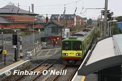Sutton DART (finnyus) Tags: ireland irish train rail railway trains railways dart sutton irishrail 2015 8629 iarnródéireann finbarroneill suttondart