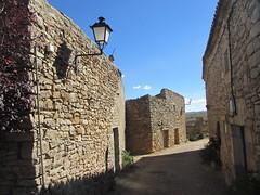 Stone houses and afternoon sun, street in Rello, Spain (Paul McClure DC) Tags: españa architecture spain historic castile castillayleón rello june2014