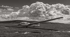 Life's a Journey (Chris Willis 10) Tags: clouds shropshire map quote flight journey glider lifes