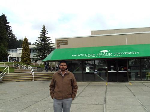 Director Mr. G.S.Kang in Vancouver Island University, Nanaimo Canada