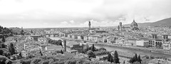 Panoramic view of Florence, Italy (apkusa) Tags: italien italy panorama skyline reisen europa italia alt dom sommer kunst urlaub kirche himmel wolken stadt
