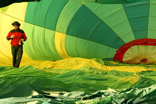 Dentro del globo  -  Inside the balloon  01