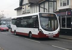 Compass Bus MX63 WZX Barnham 10/4/15 (jmupton2000) Tags: travel bus sussex worthing df wright compass wrightbus streetlite mx63wzx