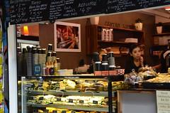 Bubbly Vietnamese waitress at Centro Espresso, Centre Place, Melbourne (avlxyz) Tags: alley australia melbourne victoria lane shops laneway centreplace melbournevic