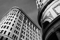 the reach (kallen photography) Tags: windows classic up architecture utah waiting downtown oldstyle fuji saltlakecity fujifilm slc