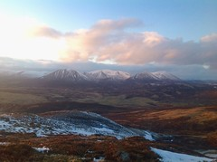 Photo of Slightly better version of Beinn a Ghlo from iPad, but the belters from camera are yet to come when home, clean, slept and fed