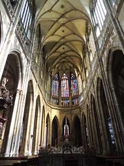Choeur de la Cathdrale Saint-Guy - Prague - Printemps 2015 (jeanyvesriou1) Tags: architecture prague cathedral praha cathdrale architecturegothique