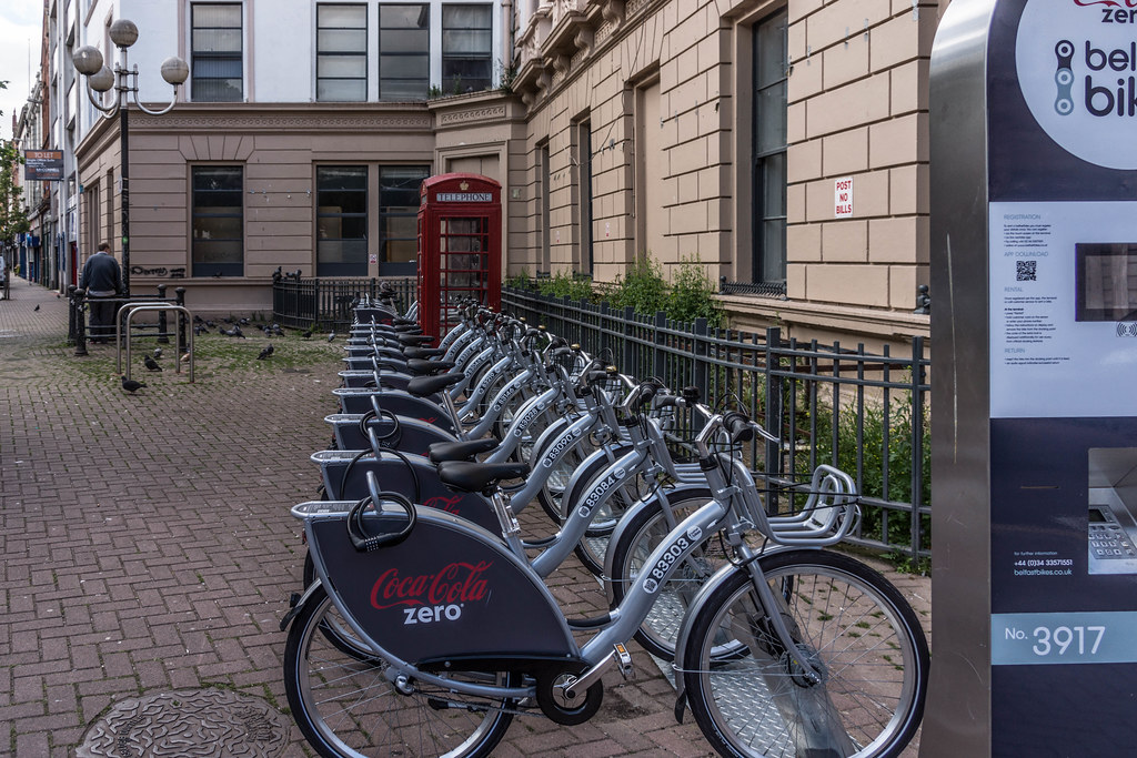 BELFAST BICYCLE SHARE SCHEME [NOW OPERATIONAL] REF-104836