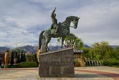 Horse rider statue (T   J  - Eid Mubarak) Tags: iran tehran d750 nikon teeje nikon2470mmf28