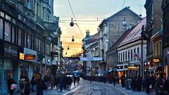 Ilica (street) - Zagreb (Miroslav Vajdi) Tags: zagreb croatia cityscape m1r0slavv travel adventure trip tourist vacation travelphotography instatravel city europe beautifullnature cleannature greatnature wallpaper   vip  i      ilica