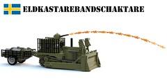EldkastareBandschaktare (Matthew McCall) Tags: lego bulldozer dozer flame thrower military army moc