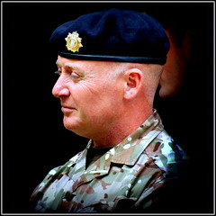 Sergeant (* RICHARD M (Over 5 million views)) Tags: candid street portraits portraiture candidportraits candidportraiture sergeant royalarmy britisharmy royallogisticcorps soldier military militaryman ukarmedforcesday armedforcesday uniforms militaryuniforms beret smiles southport sefton merseyside