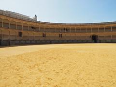Bull Ring, Ronda (HerringCoveMike) Tags: ronda spain bullring bullfight arena stands bulls sport sand