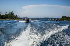 Boat ride there and back (TimoOK) Tags: suomi finland vaasa mustasaari valassaaret meri sea vesi water boat vene