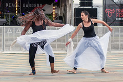 Mulembas d' Africa and Capoeira Sheffield at Tramlines 2016 (Tim Dennell) Tags: mulembasdafrica capoeirasheffield tramlines2016 dance capoeira sheffield tramlines festival