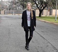 27.7.16 Free Spirit by Nikki S., 25 year old girl from South Africa, South Africa (9lookbook.com) Tags: adidas adidassneakers adidassweater androgynous badges bomber bomberjacket boyfriendcardigan boyfriendjeans cape casual chic classy converse denim f21 fashionablepassion floral forever21 givenchy hunterboots japanbomberjacket knit leather longerlengthbomber minimal minimalistic navy nike patches pussybow rock rosheruns shearling simple simplicity simplistic skinnyjeans southafrica sporty suede velvet winter zara zarabomber