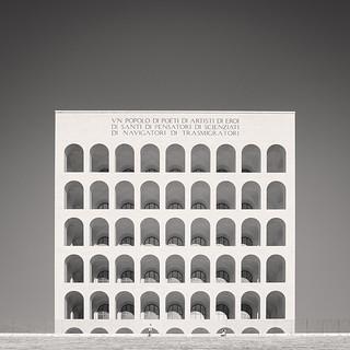 Colosseo Quadrato, Study V