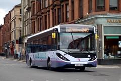 67045 SN65OGX First Glasgow (busmanscotland) Tags: glasgow ad first 200 alexander dennis mmc e200 enviro adl 67045 ogx e20d sn65 e200mmc sn65ogx