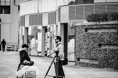 A Photographer Chatting (misterperturbed) Tags: closed casino atlanticcity revel
