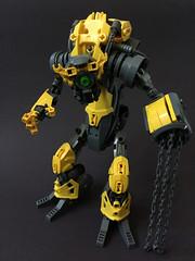 D0ZER (Lord-Oblivion) Tags: bionicle lego technic robot transformers dozer lordoblivion