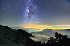 合歡山主峰~銀河~  Milkyway (Shang-fu Dai) Tags: 台灣 taiwan 南投 nikon sky landscape formosa galaxy 銀河 星空 milkyway 合歡山 hehuan 主峰 tokina1116f28 d610 戶外 天空 雲