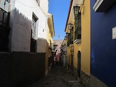 "La Paz: la calle Jaen, la rue coloniale <a style=""margin-left:10px; font-size:0.8em;"" href=""http://www.flickr.com/photos/127723101@N04/28318330240/"" target=""_blank"">@flickr</a>"