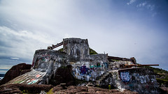 Fort Amherst Ruins Graffiti 10 (Tina Dean) Tags: graffiti fortamherst ultrawide canon1020mm newfoundlandandlabrador stjohns colors imagesfromtheshutter tinadean tinamdean tmdean tinagfw