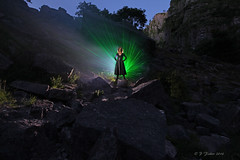 Lady of the Gorge (phill_fisher) Tags: lightpainting lightartphotography night nighttime nightphotography singleexposure longexposure lady