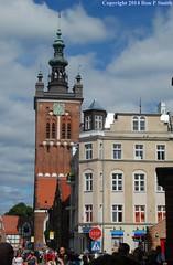140806n079 (liverpolitan.) Tags: clock museum tower saint st catherines church gdansk poland gdask muzeum historyczne miasta gdaska danzig polska