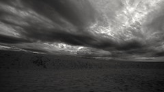 2016-07-27_09-59-28 (wiktor_furmaniak) Tags: blackandwhite sand sky clouds sowiskiparknarodowy eba poland landscape sony alpha65 dunes absolutelyperrrfect