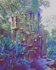 Xilitla Travel Mexico Nature Surrealism Friends Traveling Green Purple (justMONT) Tags: xilitla travel mexico nature surrealism friends traveling green purple