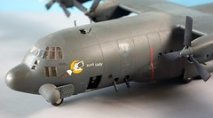 "AC-130A Spectre ""The First Lady"" Scale Model (rjl6955) Tags: 172 scalemodel kit plastic ac130a af533129 thefirstlady gunship hercules lockheed"