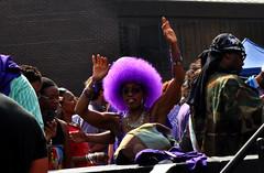 wig (greenelent) Tags: purple wig people streets prince spikelee music danceparty 365 photoaday brooklyn nyc