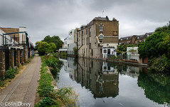Canal walk-5.jpg (Colin Dorey) Tags: westway london reflection water westbournepark greatwesternroad canal paddingtonbranch architecture ladbrokegrove kensalroad kensaltown theflora harrowroad pub publichouse