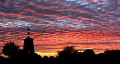 Nantwich sunset. (lwts2000) Tags: lwts2000 orange cheshire nantwich clouds nikon 5200 1755mm