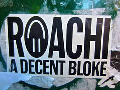 Roachi, New York, NY (Robby Virus) Tags: newyork newyorkcity ny nyc city manhattan bigapple roachi decent bloke sticker slap graffiti artist