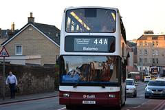 611 (Callum's Buses & Stuff) Tags: road bus buses edinburgh dennis lothian 611 trident madder slateford lothianbuses madderandwhite madderwhite sn51axu busesedinburgh buseslothianbuses