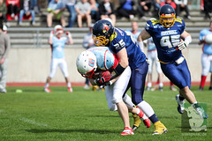 "RFL15 Assindia Cardinals vs. Bonn GameCocks 12.04.2015 024.jpg • <a style=""font-size:0.8em;"" href=""http://www.flickr.com/photos/64442770@N03/16937942078/"" target=""_blank"">View on Flickr</a>"